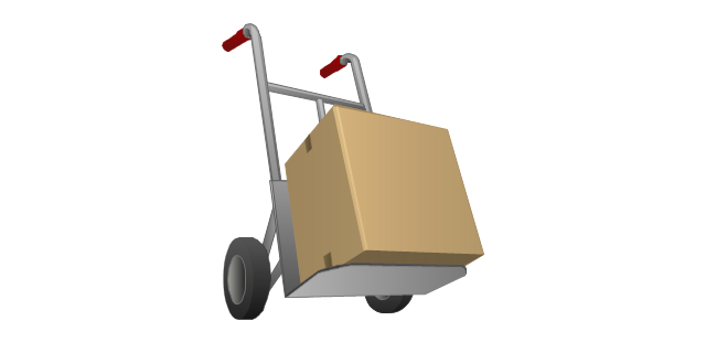 Box clipart portfolio And collection vehicle truck Truck