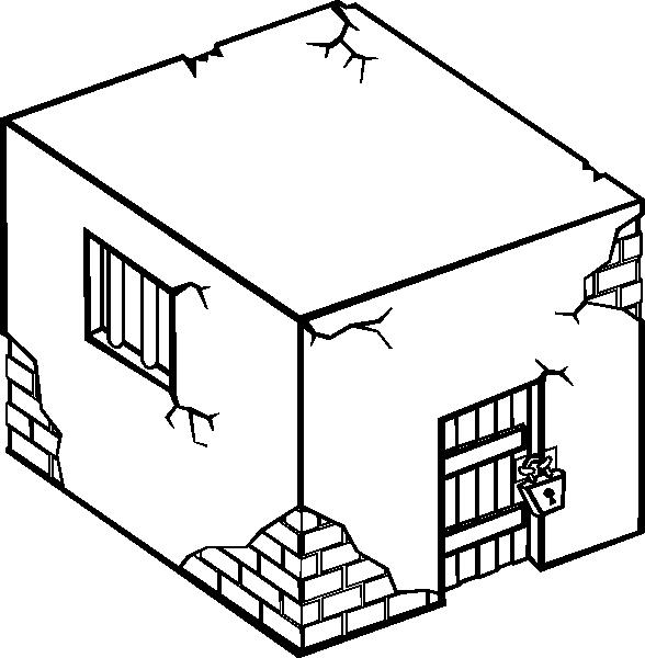 Box clipart jail Image clip at Clip vector