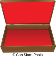 Box clipart jewellry Royalty Wooden red Clipart Illustrations