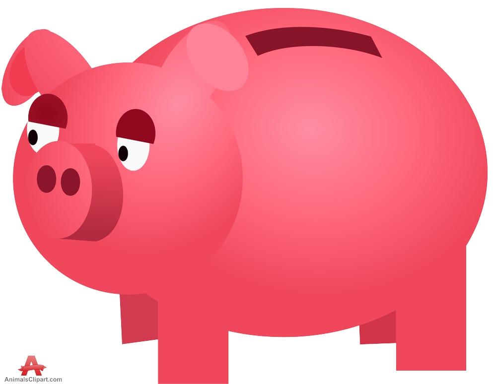 Pork clipart pink pig Pink Money collection Pig clipart