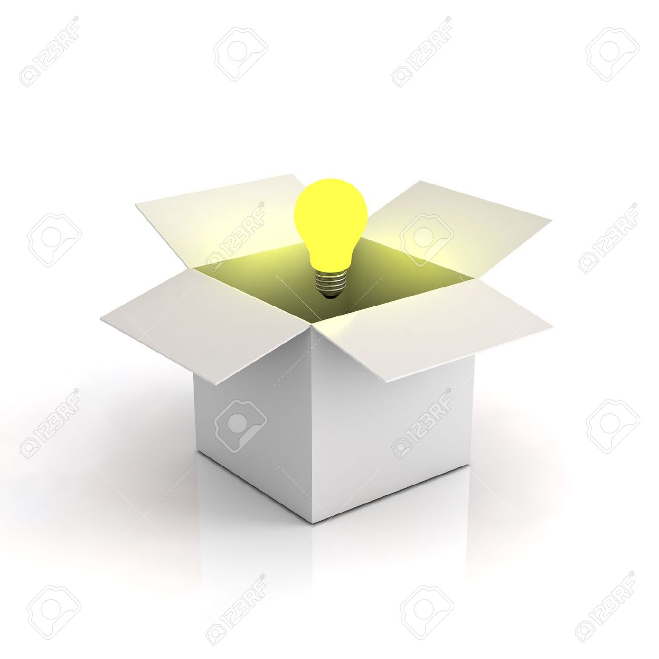Box clipart out Collection box: of of