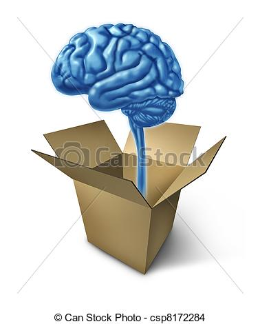 Box clipart out Collection Concept the of