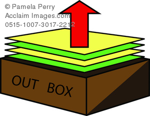 Box clipart out Of an OUT Paperwork Image
