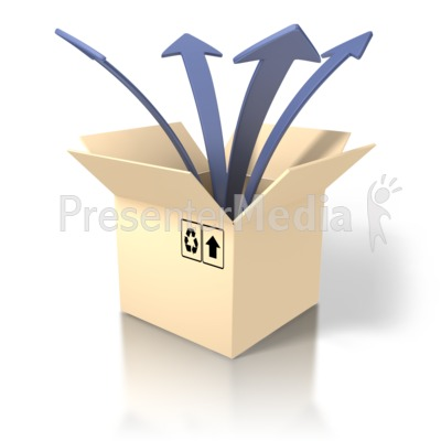 Box clipart out Clipart The out thinking Box