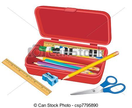 Marker clipart school Box Supply School Clipart