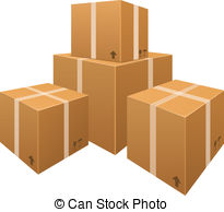 Box clipart stack box (69+) art Clipart Stacked Boxes