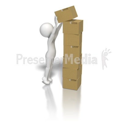 Box clipart stack box Stick Boxes Art Boxes for