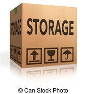 Box clipart storage unit In Artby garage Clip Stock