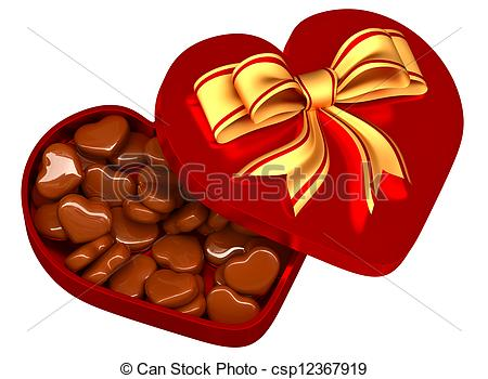 Box clipart valentine's day Gift Clipart box for box