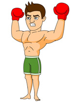 Boxer clipart Art boxing Kb 54 Sports