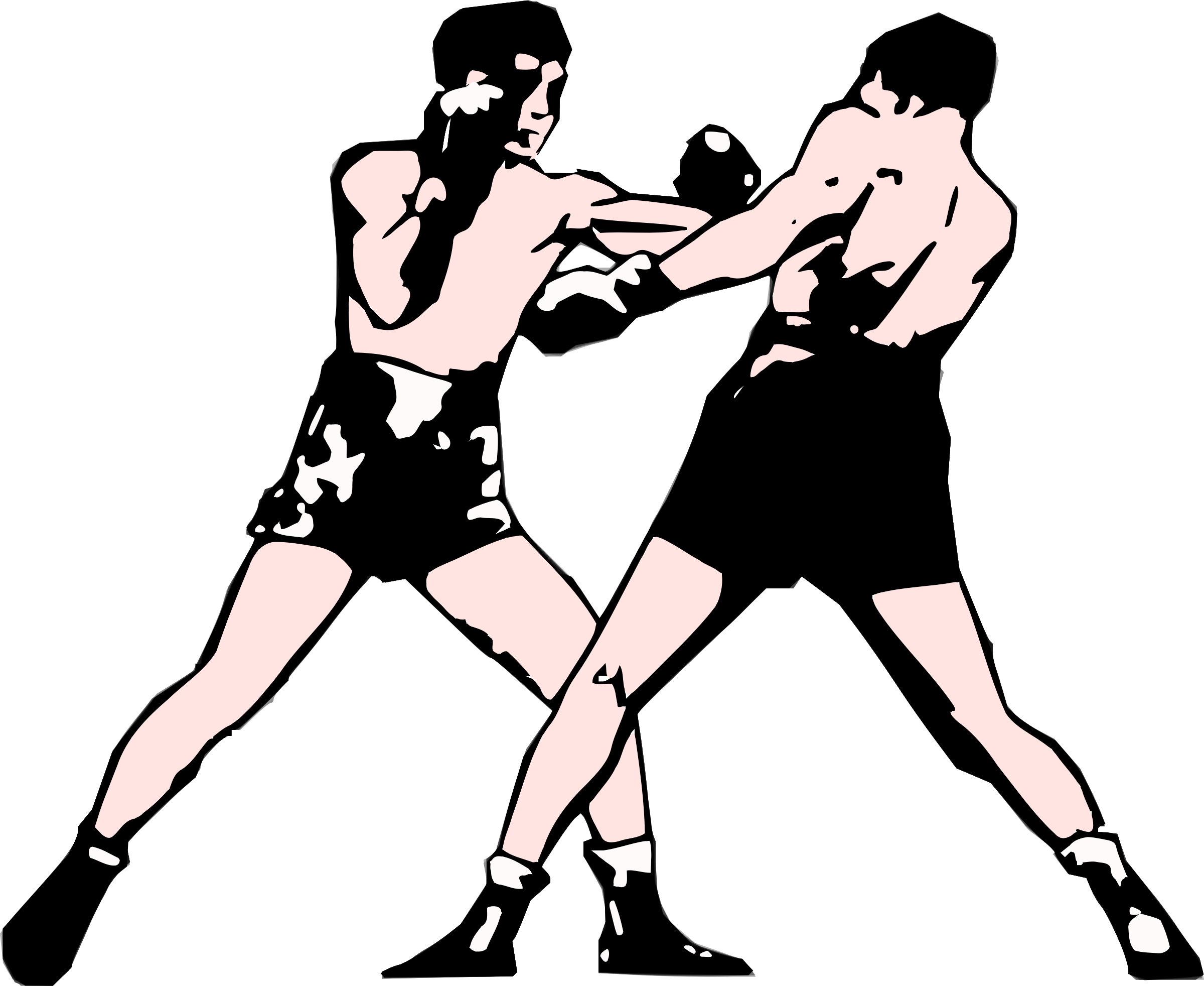 Boxer clipart boxing match Panda Clipart Free Art Boxing