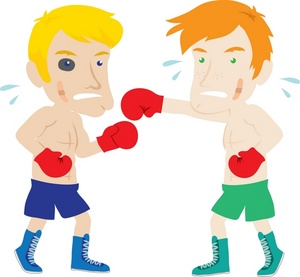 Boxer clipart boxing match In Each Up a Other