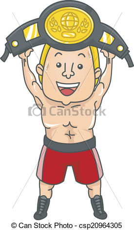 Boxer clipart champion Clipart Champion of  csp20964305