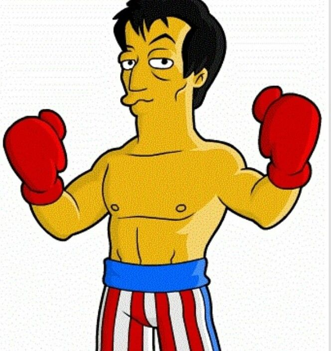 Boxer clipart rocky The  images greatest best