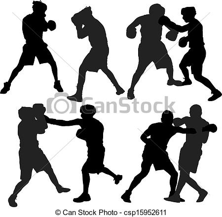 Boxer clipart box glove Sport on csp15952611  Clip