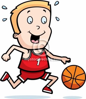 Child clipart basketball Kid player clipart basketball