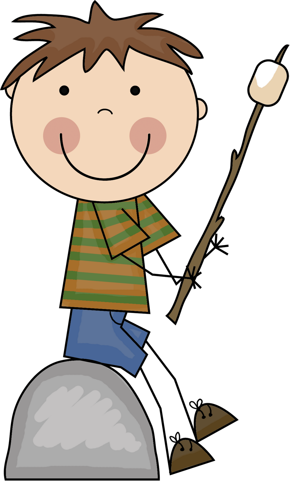 Boy clipart camper Blog campers Happy » Family