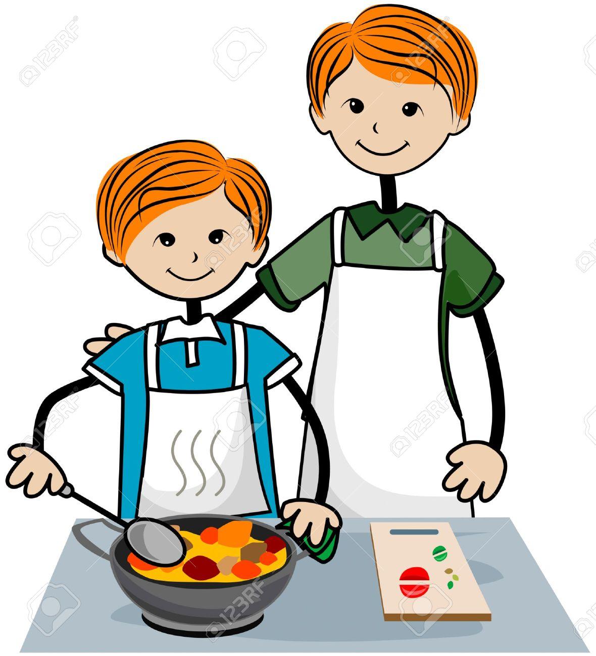 Boy clipart cooking Cooker cooker clipart Boy clipart