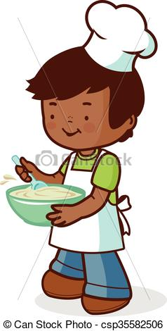 Boy clipart cooking Of cooking cooking chef boy