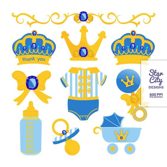 Boy clipart crown Clipart baby clipart boy prince