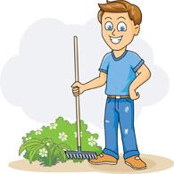 Boy clipart gardening Clipart clipart boy Garden boy