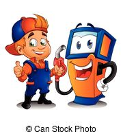 Boy clipart gasoline And free royalty  with