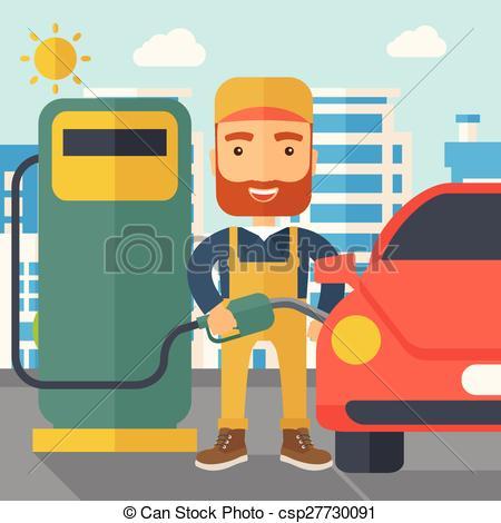 Boy clipart gasoline Vectors hipster happy fuel