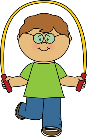 Boy clipart jumping rope Clipart clipart rope Kid jumping
