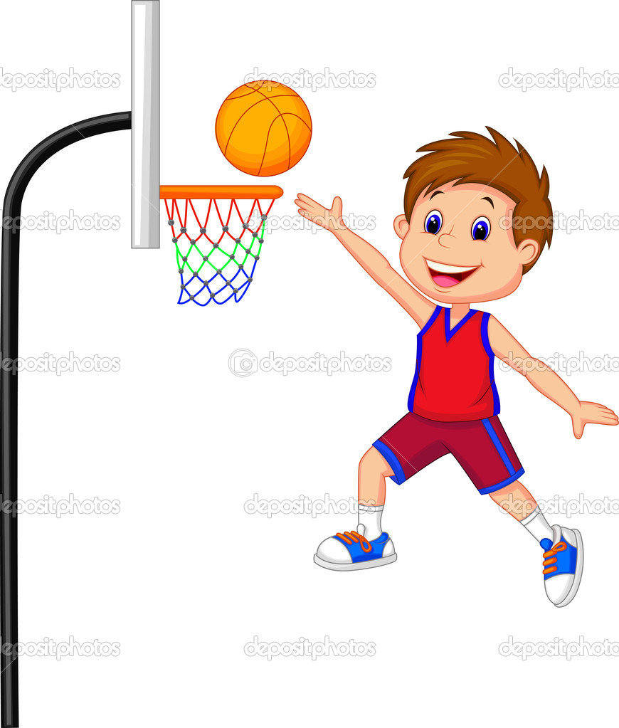 Boy clipart play basketball Basketball Clipart Playing  Boy
