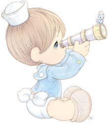 Baby clipart precious moment Precious 476 sailor Moments precious