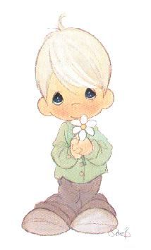 Boy clipart precious moment Moments Write Message Can Moments