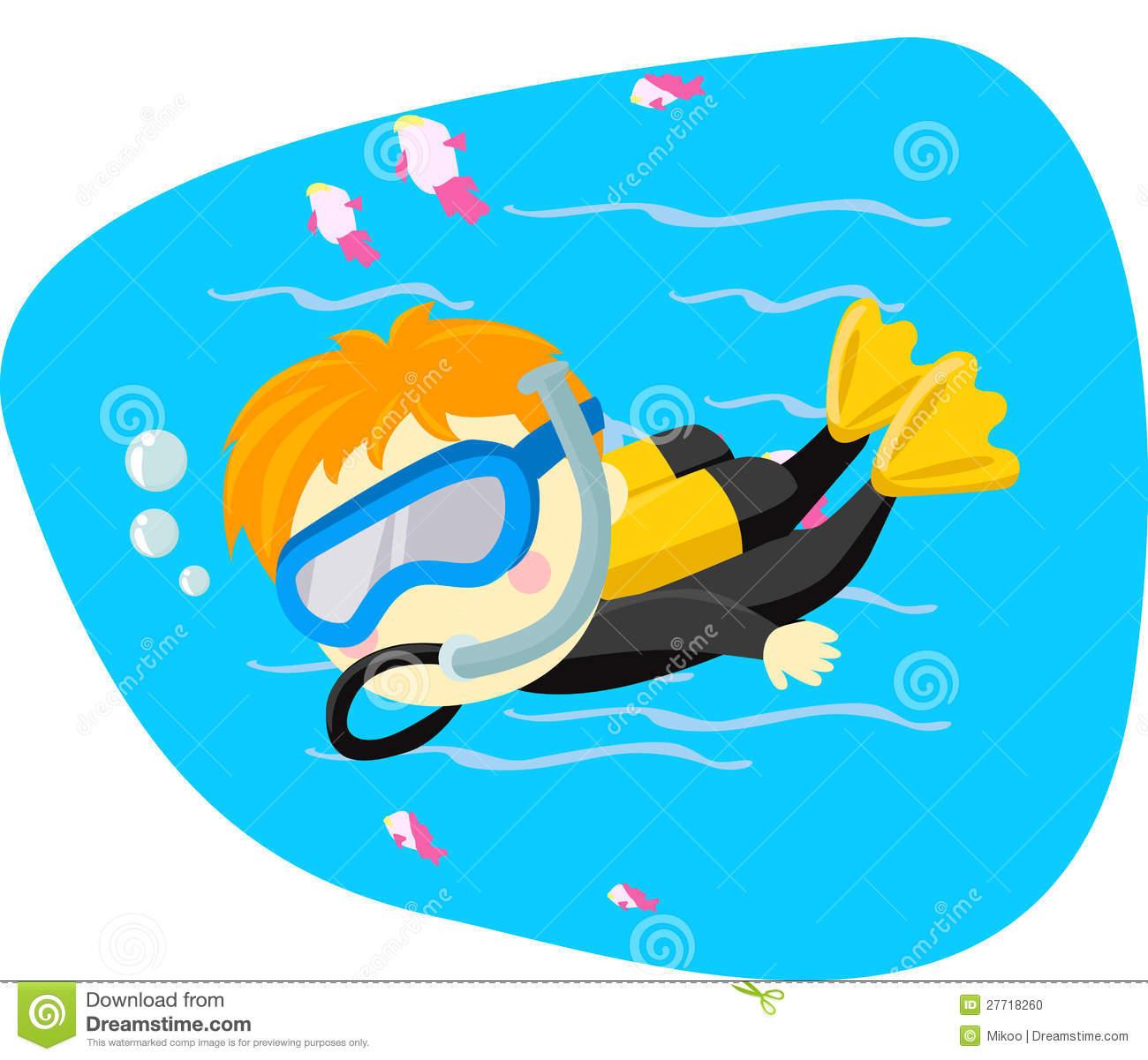 Scuba Diver clipart scuba gear #4