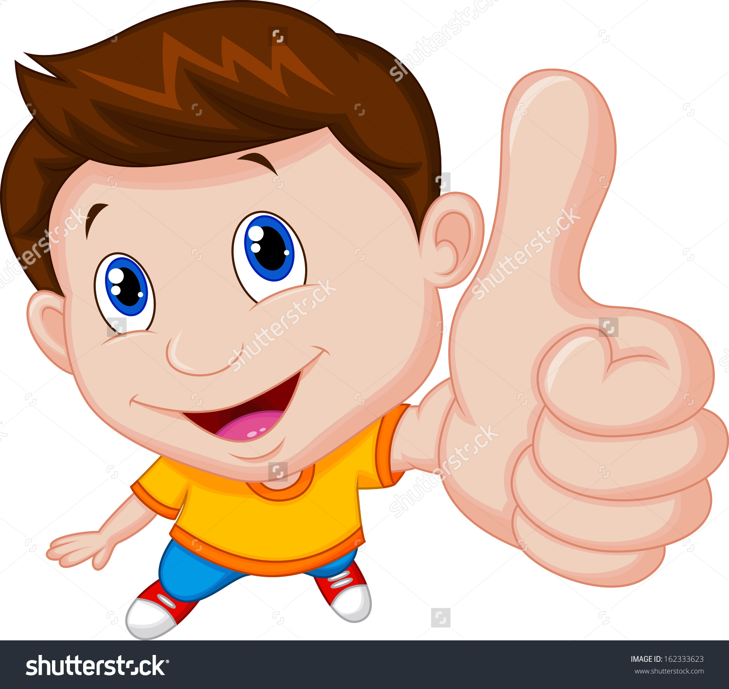 Boy clipart thumbs up Up Thumbs boy up clip