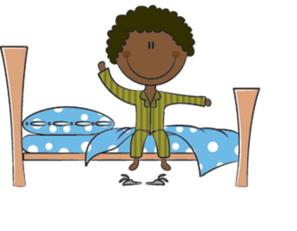 Boy clipart wakes up Free Clipart ClipartPen Wake Waking
