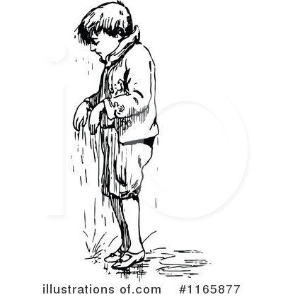 Boy clipart wet Prawny Vintage Clipart by (RF)
