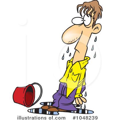 Boy clipart wet Toonaday Wet Clipart toonaday (RF)