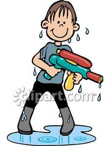 Boy clipart wet Wet Cloth Cloth Art Art