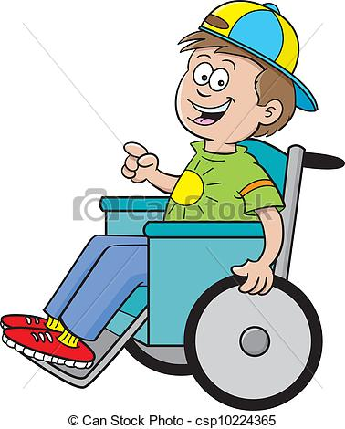 Boy clipart wheelchair A  Can Downloads and