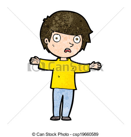 Boy clipart worried  Art csp19660589 cartoon worried