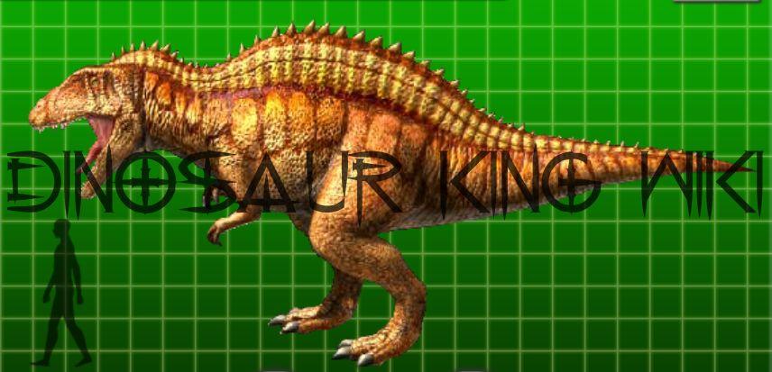 Brachiosaurus clipart dinosaur king Google Buscar acrocanthosaurus con king