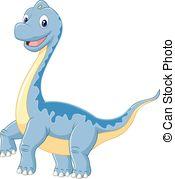 Brachiosaurus clipart purple dinosaur Cartoon dinosaur standing brachiosaurus Cartoon