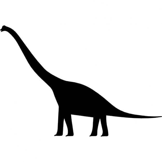 Brachiosaurus clipart blue dinosaur Silhouette Vectors Dinosaur Photos PSD