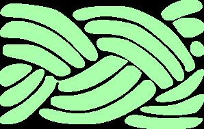 Braid clipart pigtail  Green Art Braid clip