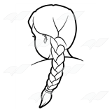 Braid clipart Clip Art Girl with Girl