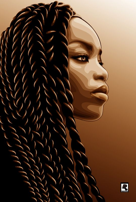 Drawn braid beginner hair Senegalese twists Amazing artwork 55