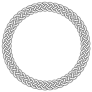 Braid clipart circle Plait of border circle 4