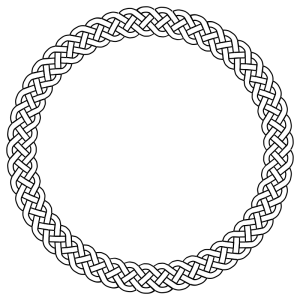 Braid clipart circle Plait Art 4 Border Download