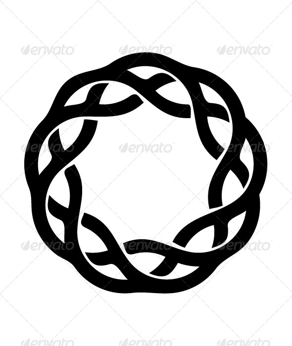 Braid clipart circle Braid Braid Circular Decorative Resturgence