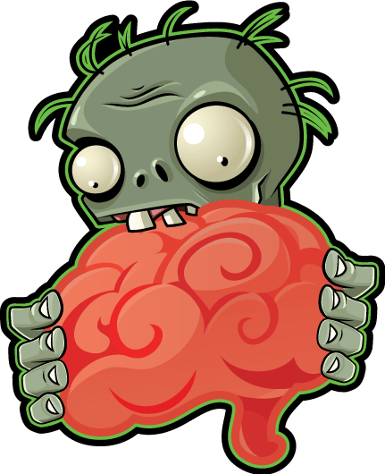 Brain clipart zombie brain Wiki vs Plants Fandom png