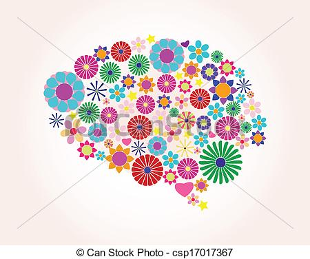 Brain clipart abstract Human brain brain Clip Abstract